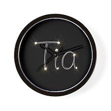 Tia Spark Wall Clock