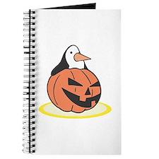 Penguin in Pumpkin Journal