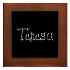 Teresa Spark Framed Tile