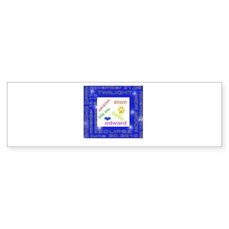 Twilight date Sticker (Bumper)
