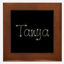 Tanya Spark Framed Tile
