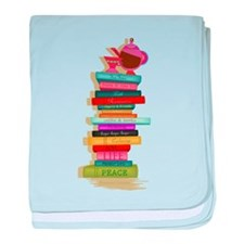 The Many Books of Life baby blanket