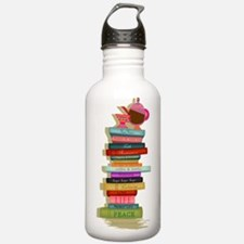 The Many Books of Life Water Bottle