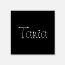 "Tania Spark Square Sticker 3"" x 3"""