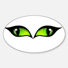 Green eyes vampire Decal