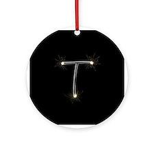 T Spark Ornament (Round)