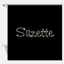 Suzette Spark Shower Curtain