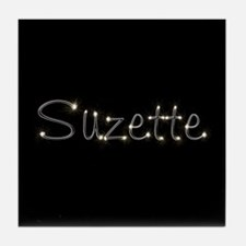 Suzette Spark Tile Coaster