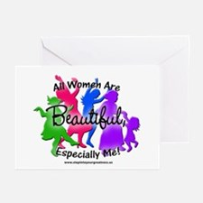 All Women are Beautiful Greeting Cards (Package of
