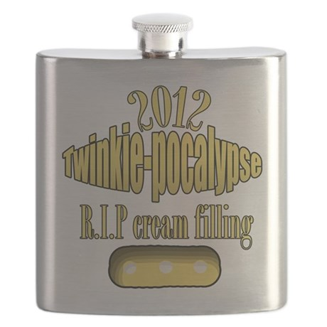 R.I.P cream filling Flask