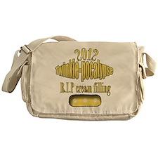 R.I.P cream filling Messenger Bag