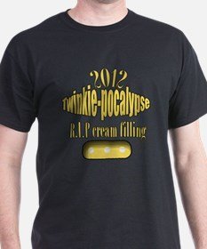 R.I.P cream filling T-Shirt