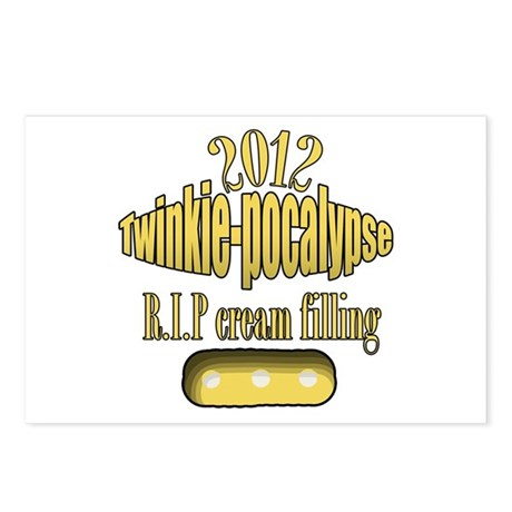 R.I.P cream filling Postcards (Package of 8)