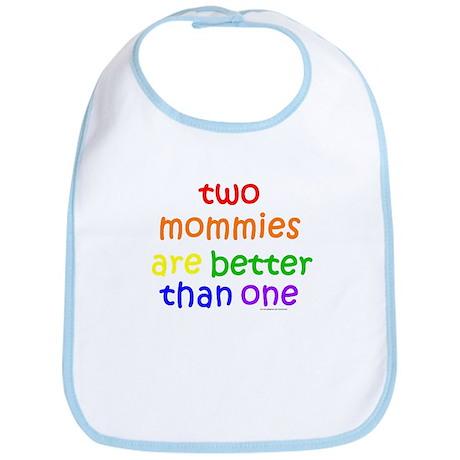 two mommies Bib