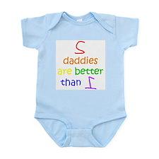 2 Daddies Infant Creeper