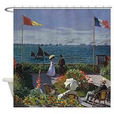 Jardin Sainte Adresse by Monet Shower Curtain