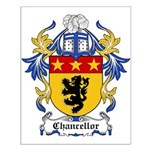 Chancellor Coat of Arms Small Poster