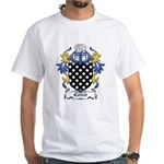 Cattell Coat of Arms White T-Shirt
