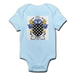 Cattell Coat of Arms Infant Creeper