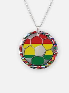 Bolivia Flag World Cup Soccer Football Futbol Ball