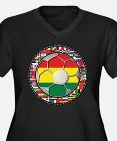 Bolivia Flag World Cup Soccer Football Futbol Ball