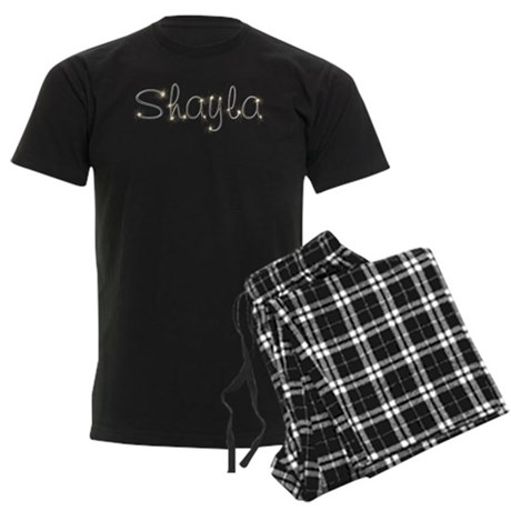 Shayla Spark Men's Dark Pajamas