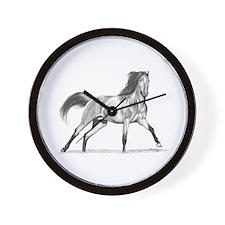 Buckskin Horse Wall Clock