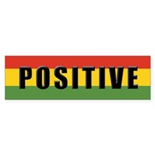 Rasta Gear Shop Positive Bumper Bumper Sticker