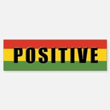 Rasta Gear Shop Positive Bumper Car Car Sticker