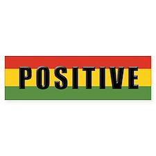 Rasta Gear Shop Positive Bumper Car Sticker