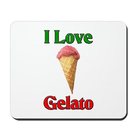I Love Gelato Mousepad