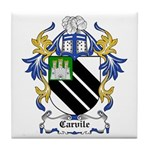 Carvile Coat of Arms Tile Coaster