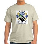 Carvile Coat of Arms Ash Grey T-Shirt