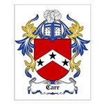 Carr Coat of Arms Small Poster