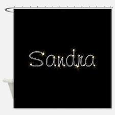 Sandra Spark Shower Curtain
