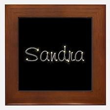 Sandra Spark Framed Tile