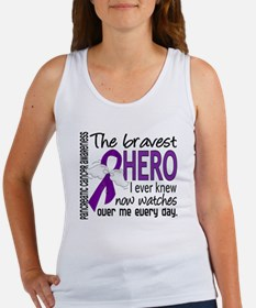Bravest Hero I Knew Pancreatic Cancer Women's Tank