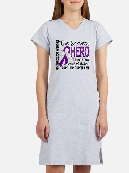 Bravest Hero I Knew Pancreatic Cancer Women's Nigh