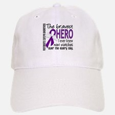 Bravest Hero I Knew Pancreatic Cancer Baseball Baseball Cap