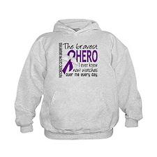 Bravest Hero I Knew Pancreatic Cancer Hoodie