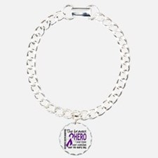 Bravest Hero I Knew Pancreatic Cancer Bracelet
