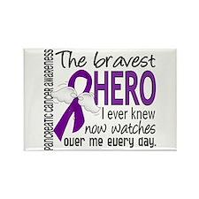 Bravest Hero I Knew Pancreatic Cancer Rectangle Ma