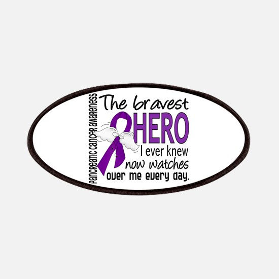 Bravest Hero I Knew Pancreatic Cancer Patches