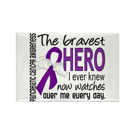 Bravest Hero I Knew Pancreatic Cancer Rectangle Ma