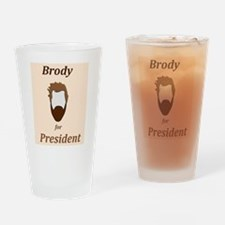 Brody 4 Pres Drinking Glass