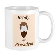 Brody 4 Pres Small Mug
