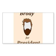 Brody 4 Pres Decal