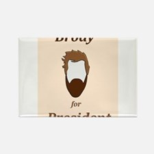 Brody 4 Pres Rectangle Magnet
