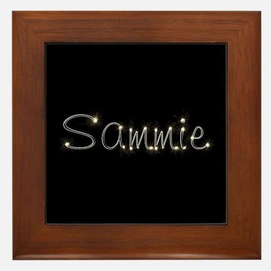 Sammie Spark Framed Tile
