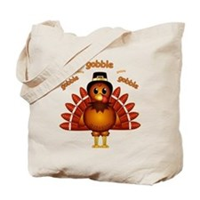 Gobble Gobble Turkey Tote Bag